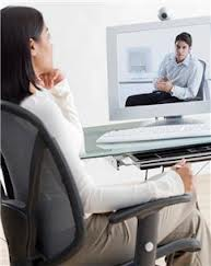 Image of online counselling session.